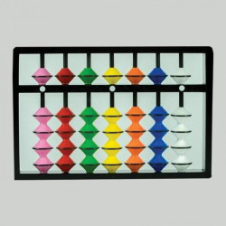 7 Rods Multi Colour Teacher Abacus